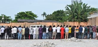 94 arrested as EFCC raids 'Yahoo Boys' party in Osun