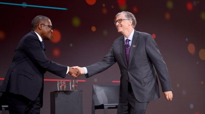 Bill Gates: Melinda and I are lucky to have Dangote as a friend