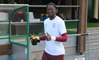 REVEALED: West Ham goalkeeper makes Nigeria's 21-man list for U-17 World Cup