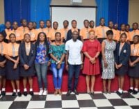 Adedokun, filmmakers empower female students in Lagos