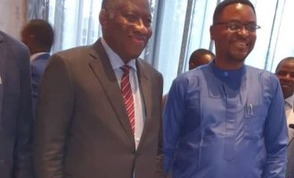 President Jonathan tells me why he doesn't comment on national issues