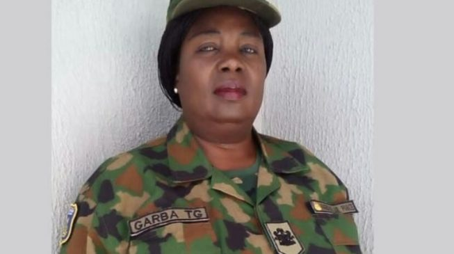 Grace Garba becomes Nigeria's first female air warrant officer