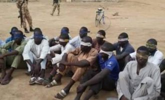 Civilian JTF captures 2 Boko Haram commanders, 19 fighters in Bama