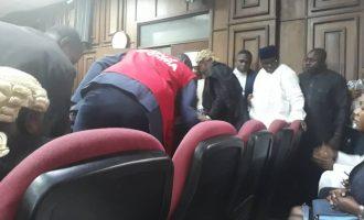 EFCC arraigns Maina and son