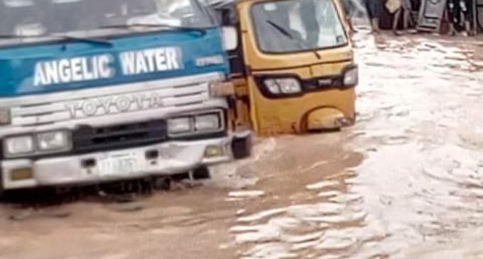 PHOTOS: Again, flood wreaks havoc in Lagos