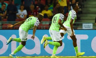 Aribo scores as Super Eagles play out 1-1 draw with Brazil