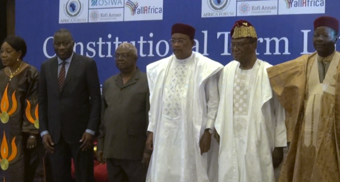 Jonathan, Sawyer ask African presidents to respect term limits