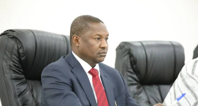 Malami backtracks, declines panel's invitation to testify against Magu