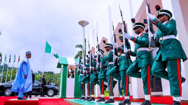 PHOTOS: Celebration of 59th independence anniversary at Aso Rock
