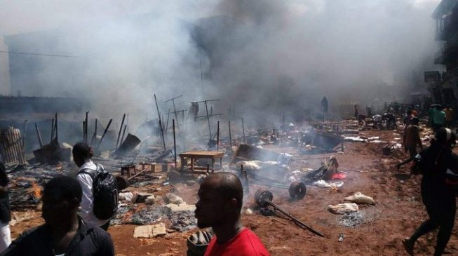 'Many trapped' as petrol-laden truck explodes near Onitsha market