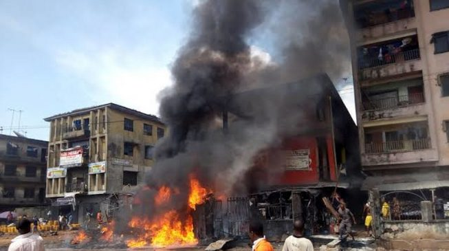 'There's need to curb illegal trading' — obi of Onitsha speaks on inferno