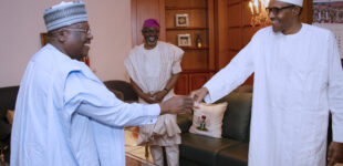 Lawan: We won't disagree with Buhari to please anybody