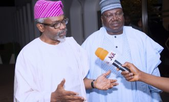 Opinions are divided on service chiefs, says Gbaja after meeting with Buhari