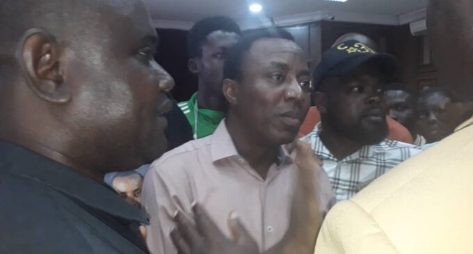 Why have Sowore's sureties not come forward?