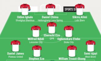 Ighalo, Alimi, Etebo… TheCable's team of the week