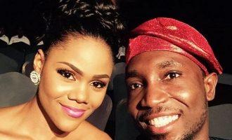 'I salute you Busola, my Kogi stew' — Timi Dakolo celebrates wife on her birthday