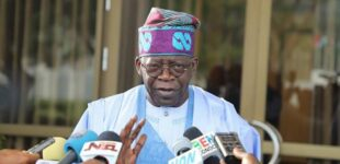 ICYMI: Some persons told the presidency I sponsored #EndSARS protests, says Tinubu