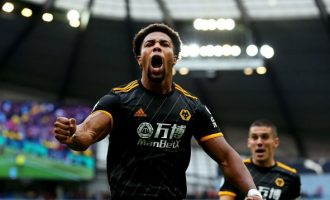 Traore scores brace as Wolves humble Man City at Etihad