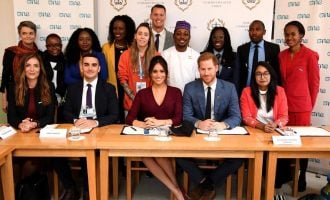 Nigerian education advocate explains out-of-school issues to the UK royal family