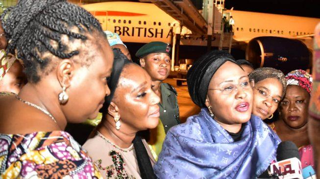 Fake news will plunge Nigeria into trouble, says Aisha Buhari