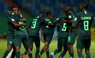 U17 WC: Eaglets beat Ecuador to reach round of 16