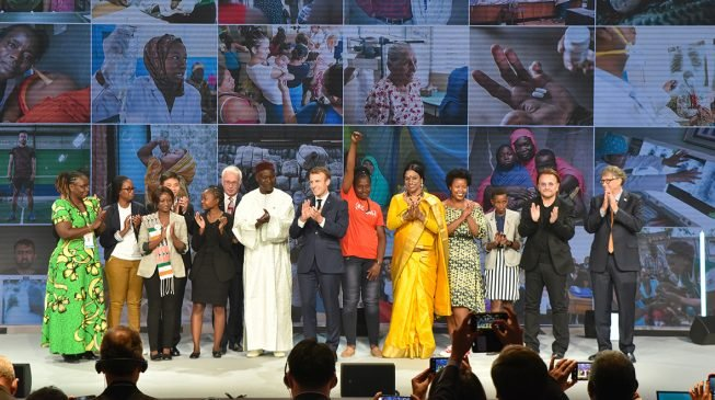 BIGGEST EVER: Macron, Gates, US pledge $14bn to end malaria, HIV by 2030