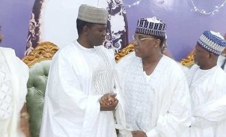 Four governors attend wedding of Matawalle's daughter