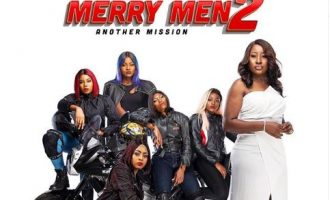 WATCH: AY, Regina Daniels show off fighting skills in 'Merry Men 2' trailer