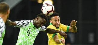 'Eagles played PSG, Man City, Barca and Liverpool' — Twitter reactions to Nigeria-Brazil friendly