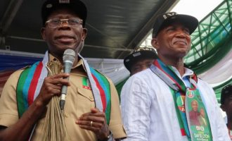 Result of guber election will humble Dickson, says APC