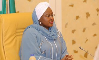 First lady asks IGP to release her aides detained 'on the orders of Buhari's PA'