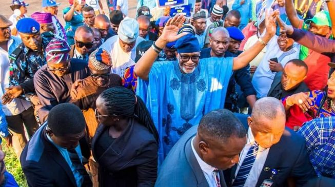 Akeredolu returns to Ondo after five weeks in Abuja