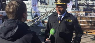 Nwabufo, only Nigerian cadet on 'around-the-world' expedition on Russian 'Pallada'