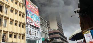 Fire breaks out in Mandilas section of Balogun market