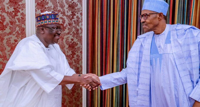 Lawan: Any request from Buhari will make Nigeria a better place