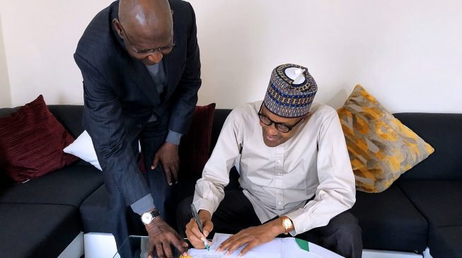 Buhari signs '$1.4 billion' PSC bill into law