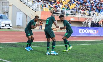 Osimhen brace helps Eagles thrash Lesotho in 2021 AFCON qualifier