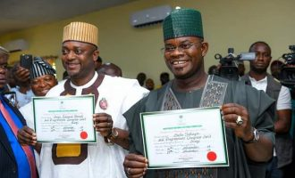 N'assembly clerk asks Yahaya Bello to mark electoral victory with sober reflection
