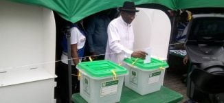 'It's an indictment on INEC' — Jonathan speaks on delayed voting