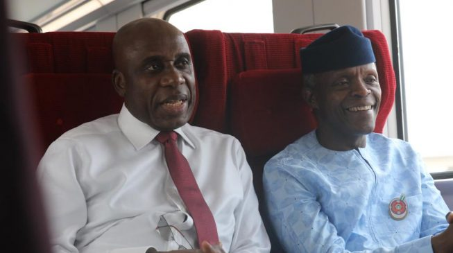 Osinbajo lays foundation for Ogun railway wagon plant