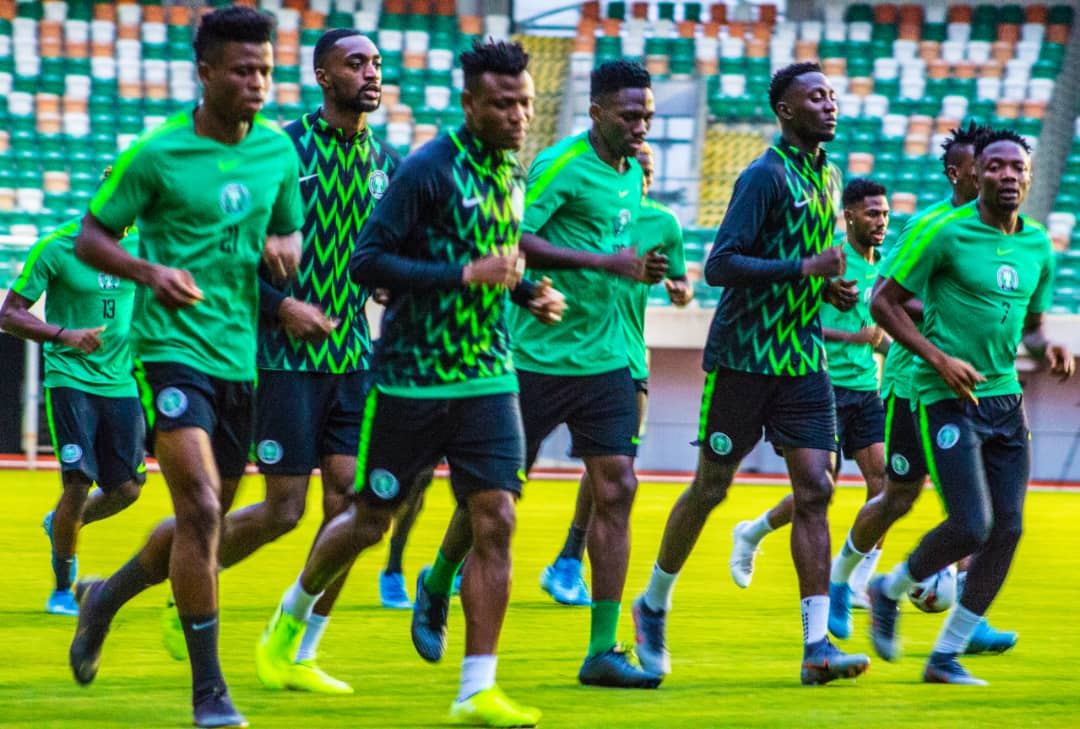 PHOTOS: Super Eagles train in Uyo ahead of Benin clash - TheCable