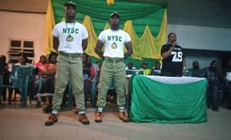 Corps member punished for 'assaulting official' at Bayelsa NYSC camp