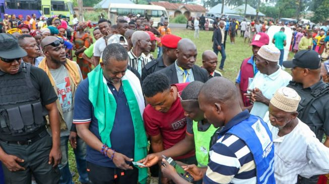Yahaya Bello is a divine leader, says Edward Onoja after voting
