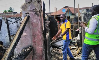 Gas explosion kills two children in Lagos