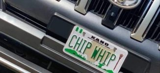 FRSC arrests producers of 'Chip Whip' number plate