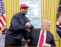 'Real estate is better now than with Obama' — Kanye West backs Trump for re-election