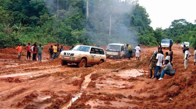BUSTED: PDP used photos of bad roads in Liberia to tackle Fashola