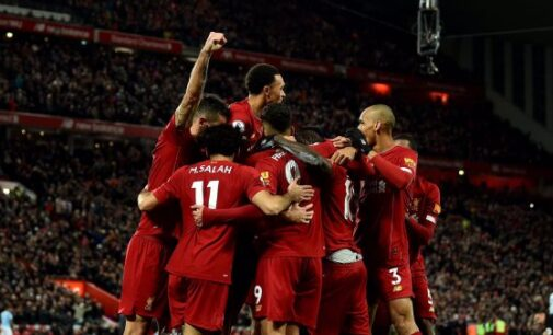 Liverpool beat Man City to open up eight-point lead