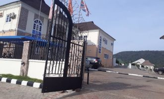Masked security men storm Kogi hotel where Oyo gov lodged ahead of election