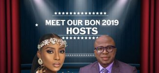 Maryam Booth, Gbenga Adeyinka to host 2019 BON Awards